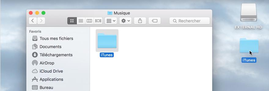 bibliothèque iTunes