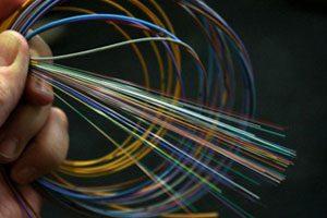 Image de cable de fibre optique